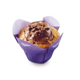 Gâteau muffin chocolat milka en livraison sur armentieres
