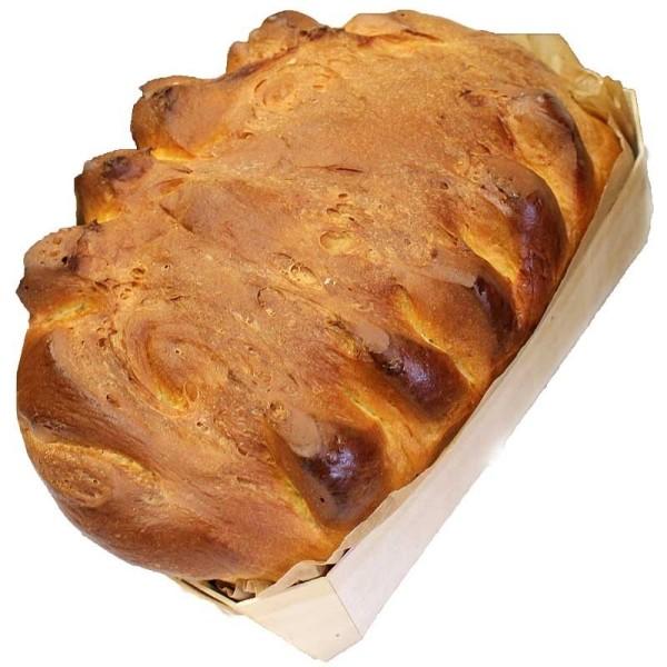 Grande brioche nature boulangerie la boulange