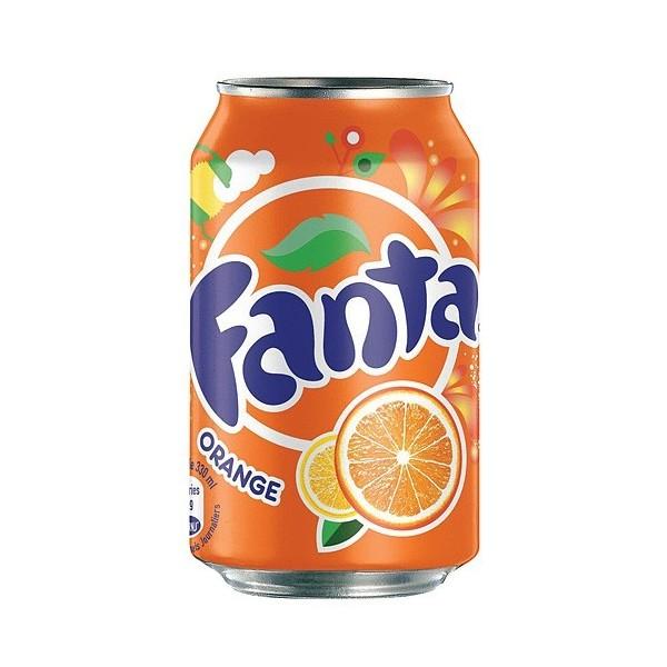 boisson fanta orange