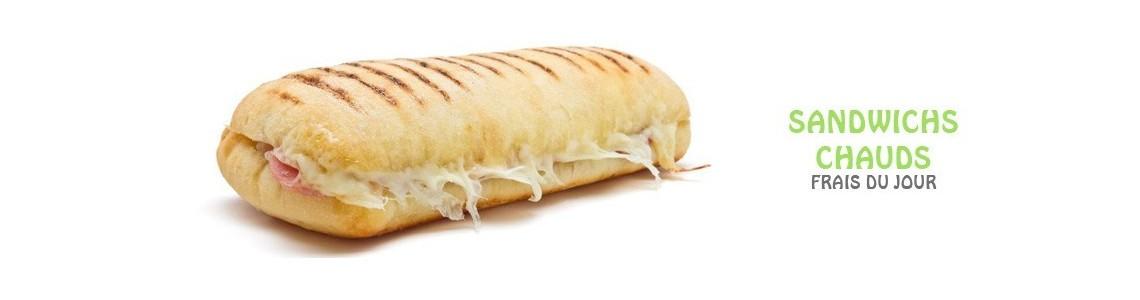 Sandwichs Chauds en livraison